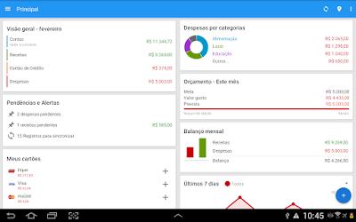 Gerenciador Financeiro Mobills Android