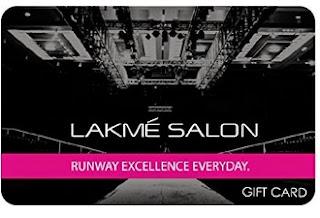 Rs. 1000 Lakme Salon Gift Card Rs. 850