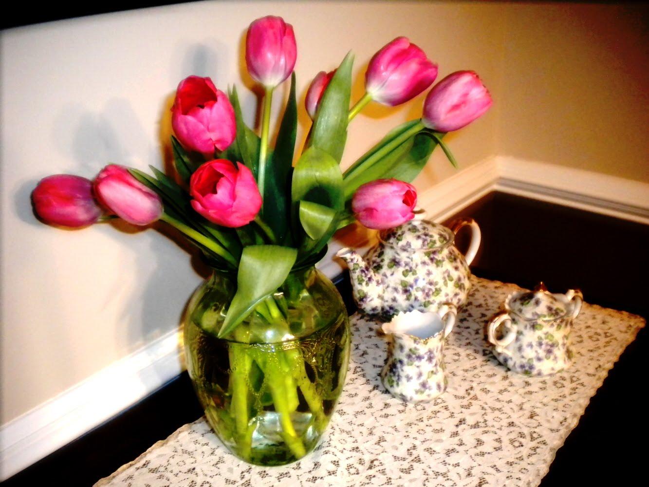 фото шапок с цветами