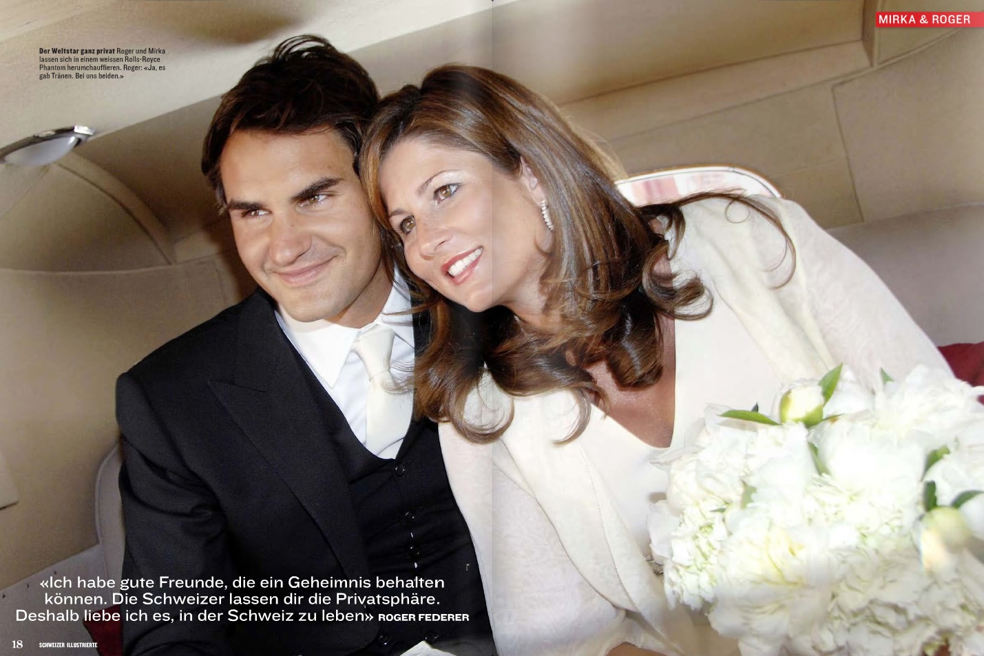 Roger Federer and Mirka Wedding Pictures News for FIFA WORLD