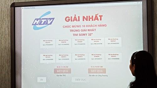 """Buổi quay số trúng thưởng chương trình khuyến mại """"ĐÓN BÌNH MINH, RINH QUÀ KHỦNG"""" – Đợt 1"""