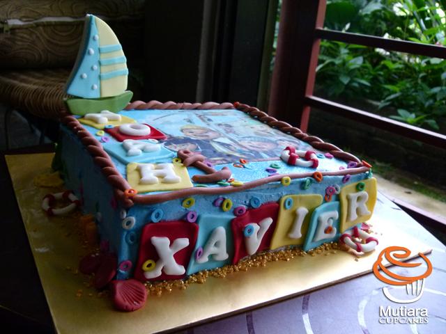 Mutiara Cupcake Its NOAH XAVIERS BIRTHDAY