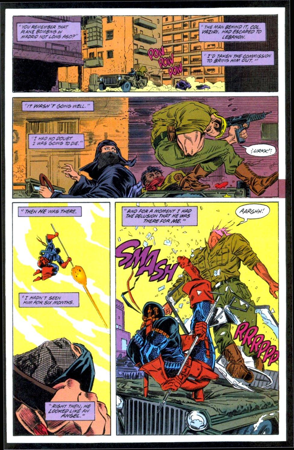 Deathstroke (1991) Issue #12 #17 - English 6