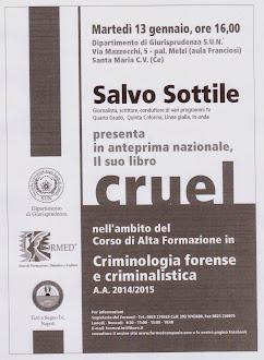 CORSO DI CRIMINOLOGIA DEL FORMED EDIZIONE 2015