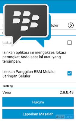 BBM versi 2.9.0.49