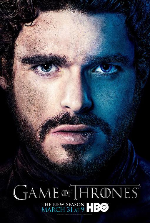 Robb poster 3T - Juego de Tronos en los siete reinos