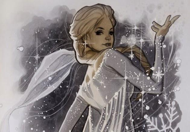 Elsa by Anna Dittmann, Dan Hipp, Adam Hughes & Jiyu-Kaze