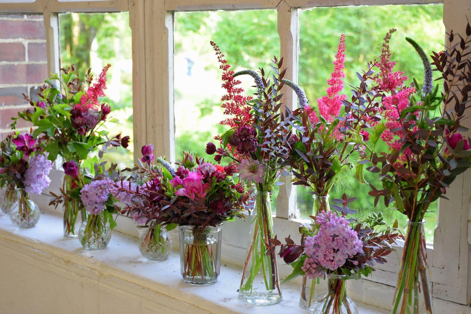 L'orangerie, atelier floral pour E&C