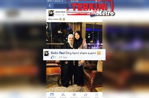 Adira Didakwa Berkongsi Suami Dengan Seorang Datin