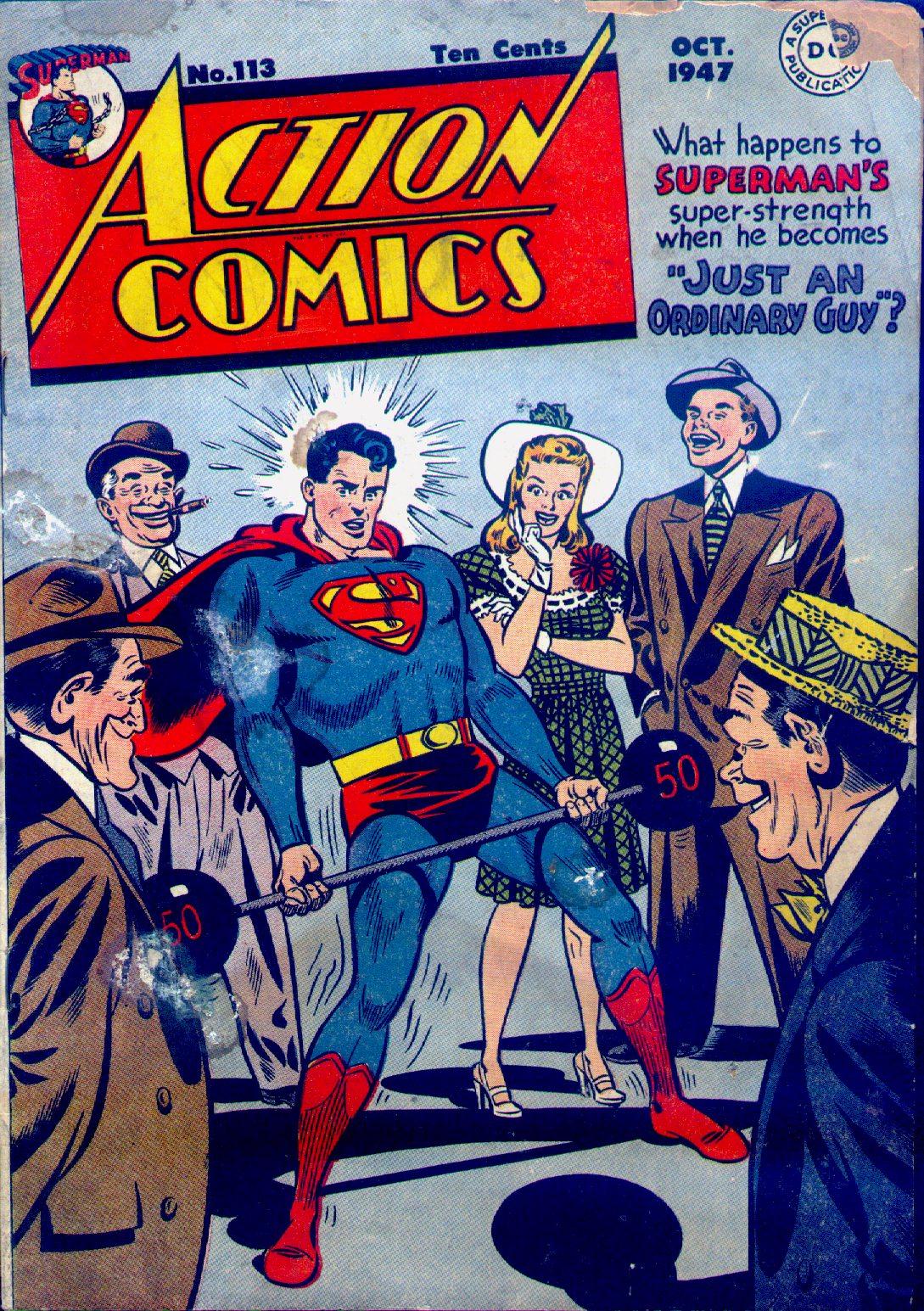 Action Comics (1938) 113 Page 1