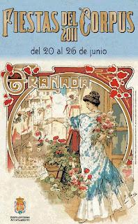 Cartel Corpus Granada 2011