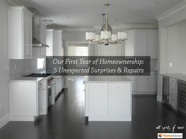 Unexpected Surprises of Homeownership with HomeAdvisor