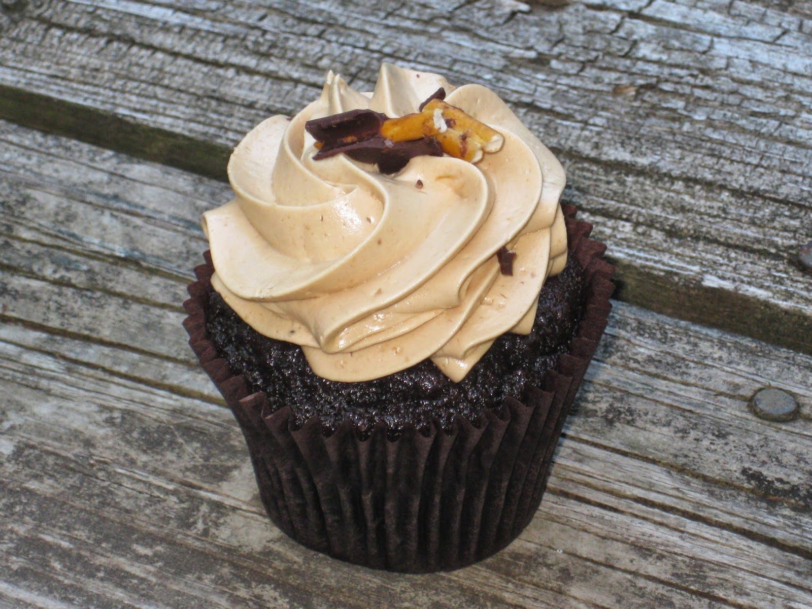 Salted Caramel Cupcake from Flavory Cupcakery