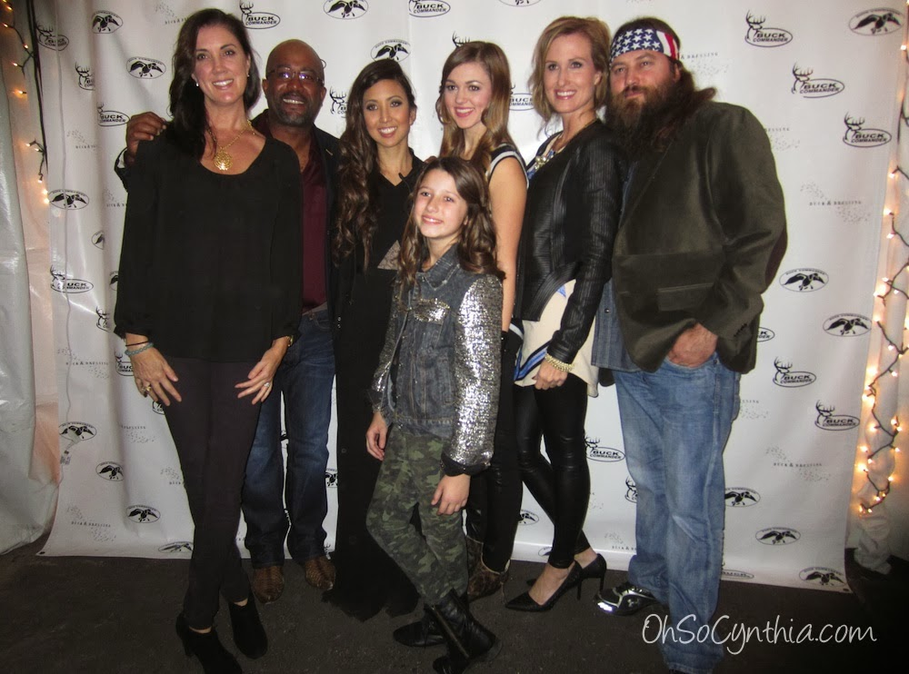 Beth & Darius Rucker with Rebecca, Bella, Sadie, Korie & Willie