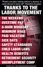 Thanks to the Labor Movement