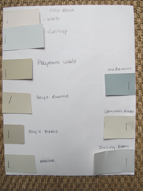 Progress and paint colors design indulgence for Natural paint color palette