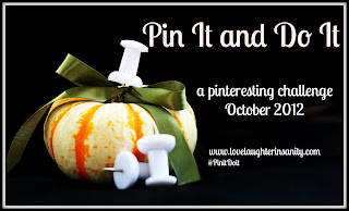 October Pin It and Do It Update
