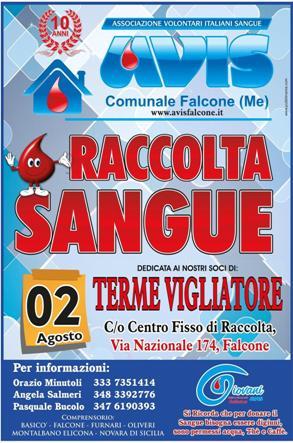DOMENICA 2 AGOSTO AL CENTRO FISSO DI RACCOLTA DI FALCONE DEDICATA AI SOCI DI TERME VIGLIATORE