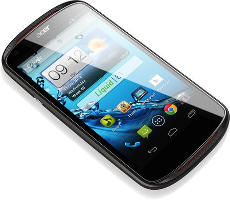 4.5 pollici con tecnologia LCD IPS di grandezza per il display del nuovo smartphone Acer jelly Bean di fascia media Liquid E1
