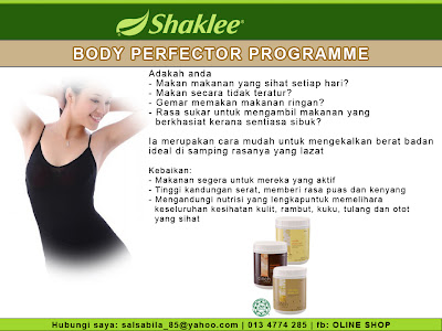 body perfector programme, shape up set