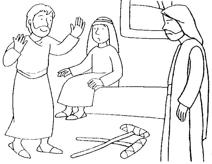 BUENAS NOTICIAS PARA LOS NIÑOS: JESÚS SANA A UN PARALÍTICO
