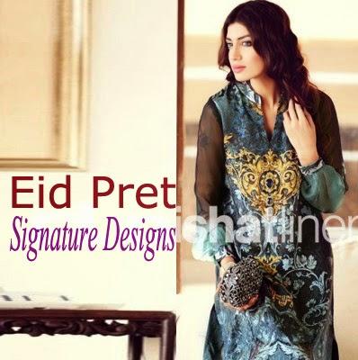 Nishat Eid Pret Signature Designs