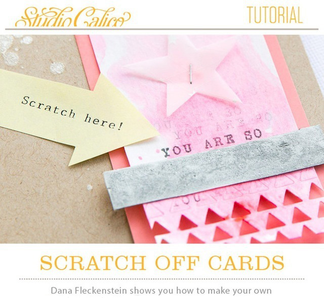 How to make scratch-off cards at home by @pixnglue