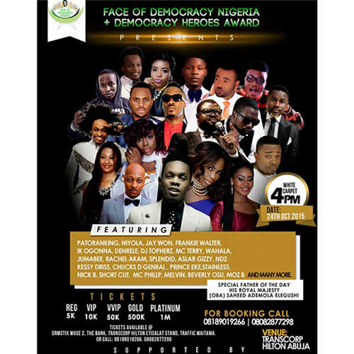 Melvin Oduah Beverly Osu Judges Of Face Of Democracy Nigeria