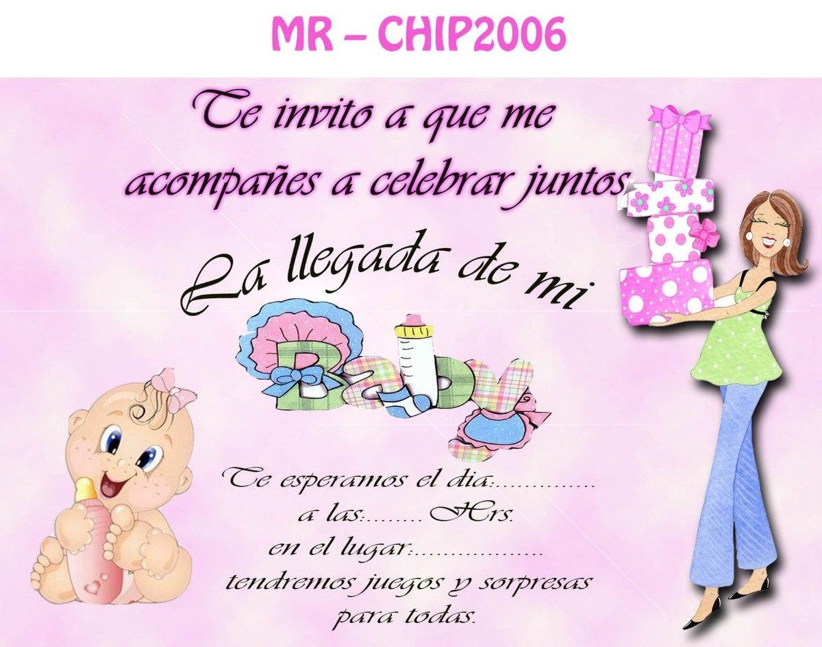 Invitaciones Para Baby Shower De Nina