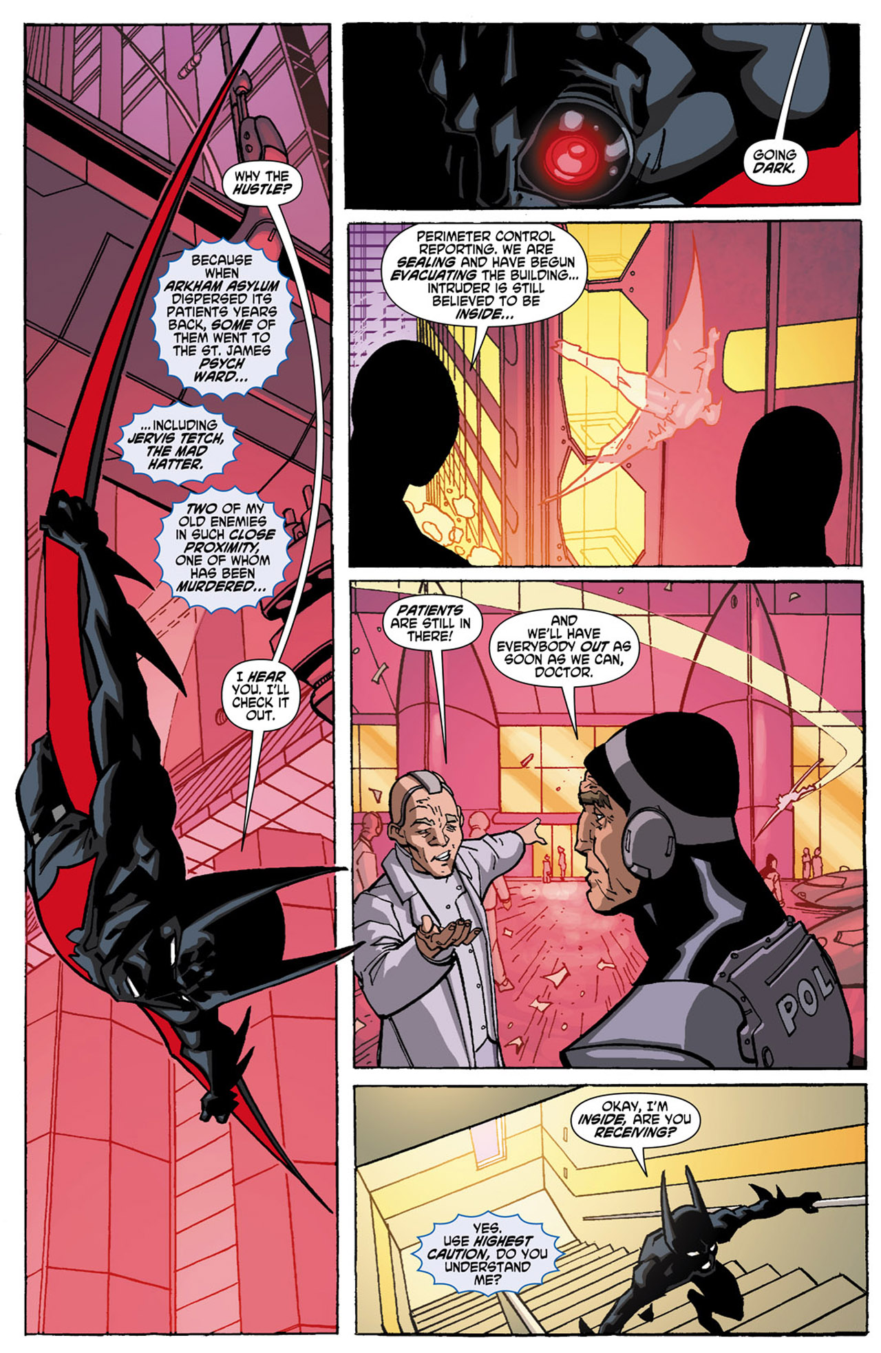 Batman Beyond (2010) Issue #1 #1 - English 20