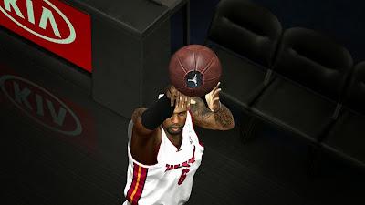 NBA 2K14 Air Jordan 23 Leather Basketball Mod