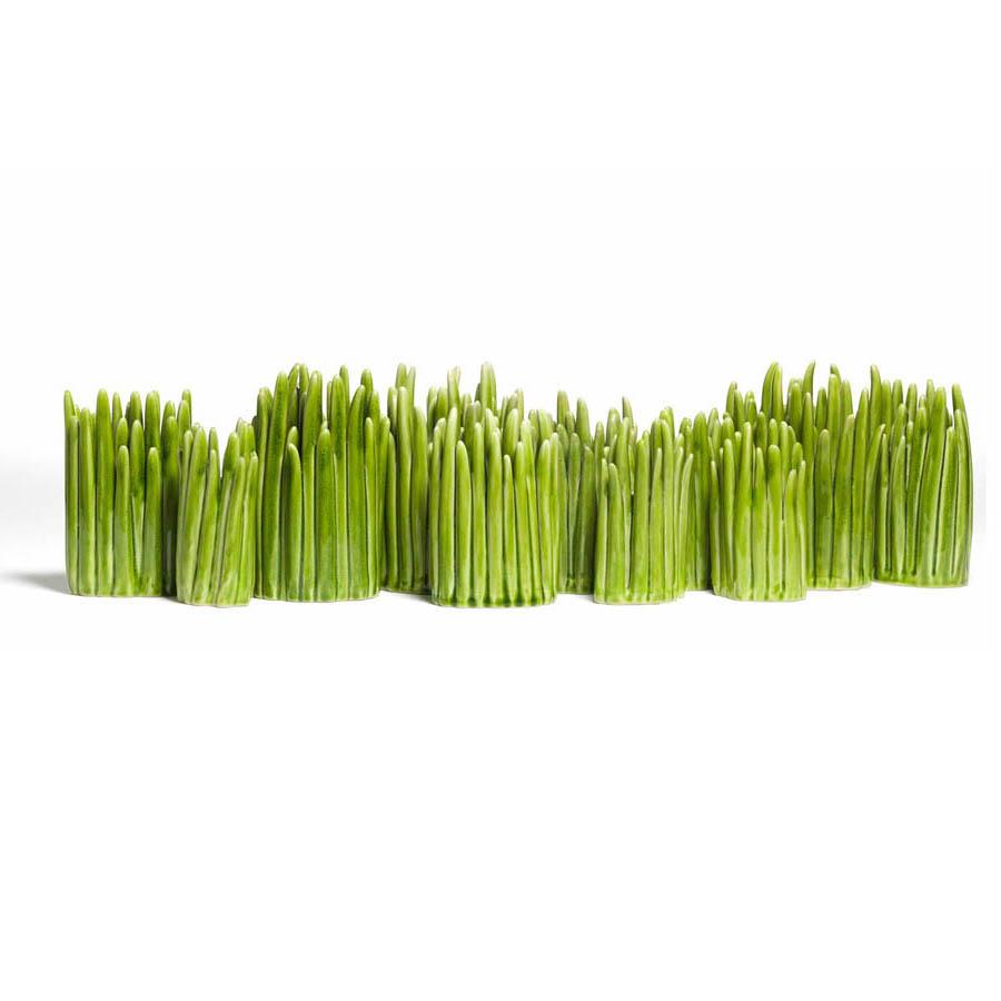 Grass modern flower vase green normann copenhagen for Modern grass