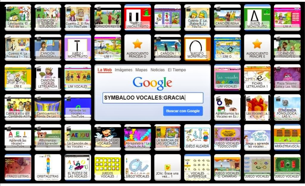 SYMBALOO VOCALES