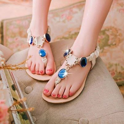 fabolous rehinstone chain straped trendy sandal fashion for ladies