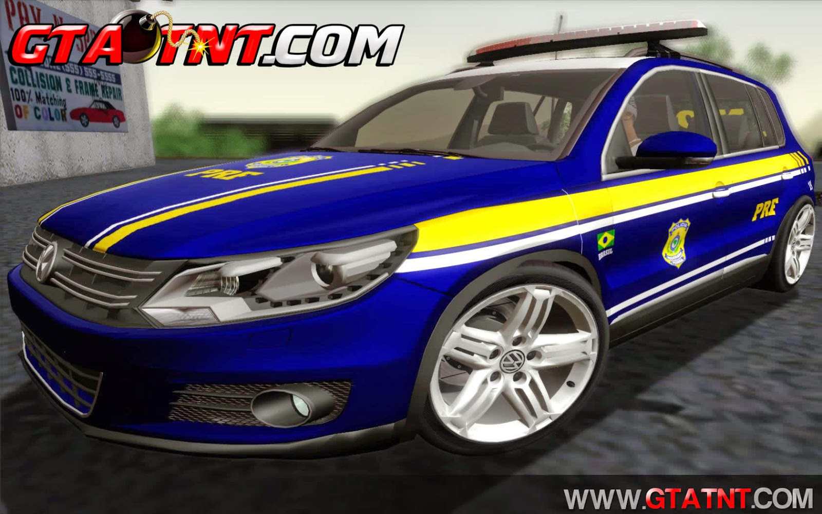 Volkswagen Tiguan 2014 Pol�cia Rodovi�ria Federal para GTA San Andreas