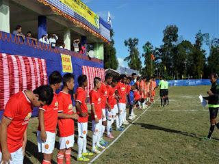 Siniolchu FC, Namchi vs MYC Mungpoo Gold Cup 2015