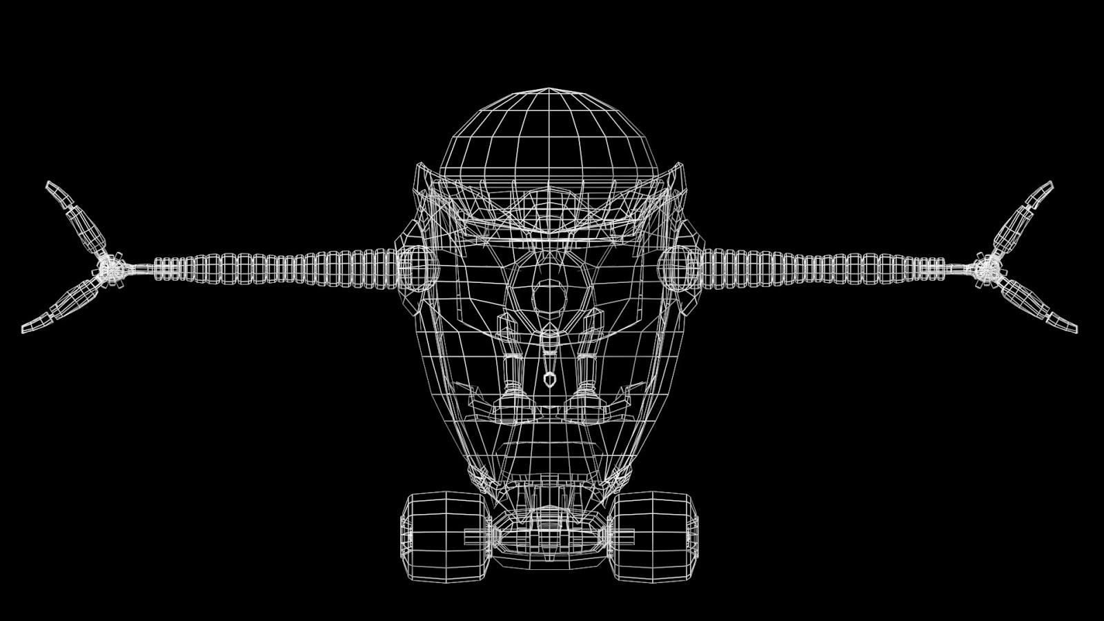 nicolas cayr u00e9  mod u00e9lisation robot  3ds max