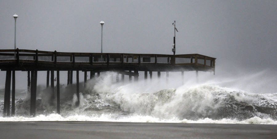 Jerseylil 39 s 2 cents mother nature hath no fury like sandy for Maryland fishing piers