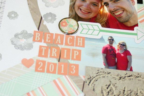 Allie Stewart Chickaniddy Summer Beach Layout close-up2