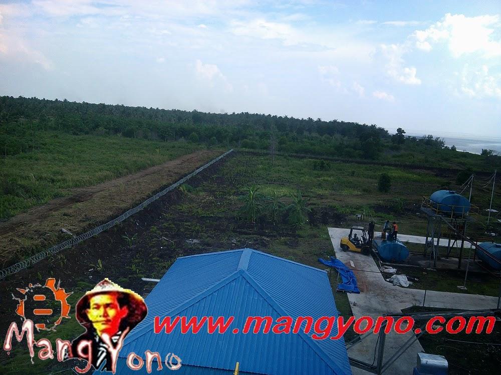 Area Pabrik peleburan timah PT. Wahana Parkit Jaya di Pulau Topang.