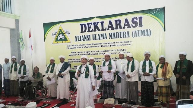 Aliansi Ulama Madura Deklarasikan Madura Anti Syiah