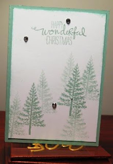Festival of Trees zena kennedy independent stampin up demonstrator