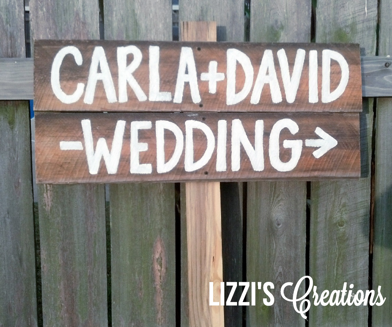 Lizzi's Creations: Project Wedding: DIY Rustic Wedding Signs