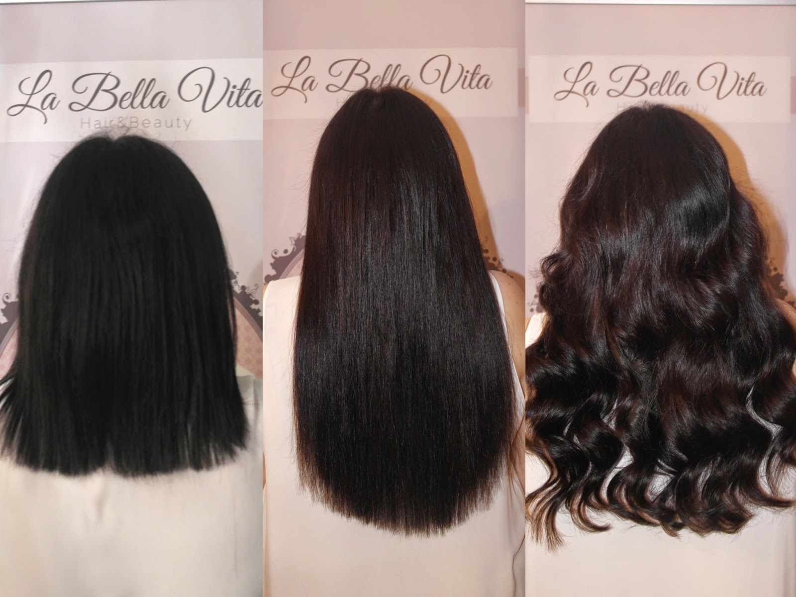 Getting my dream hair at la bella vita that belfast girl getting my dream hair at la bella vita pmusecretfo Images