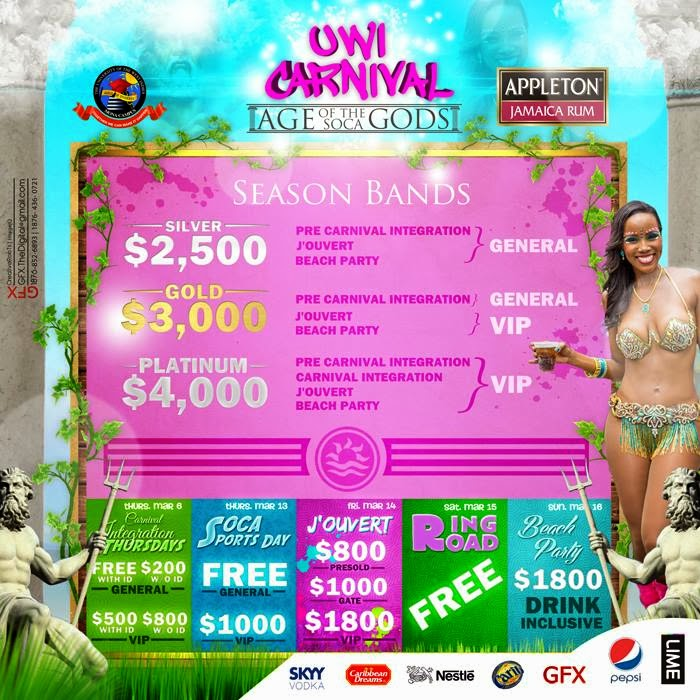 UWI Carnival this week