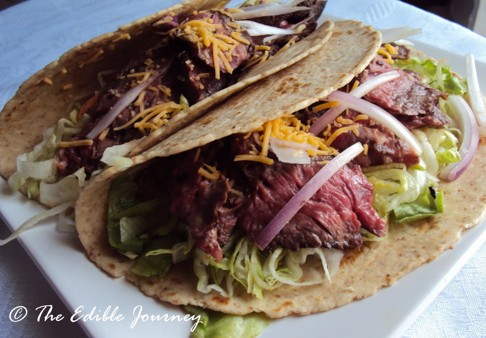 marinated skirt steak tacos 1 skirt steak about 1 5