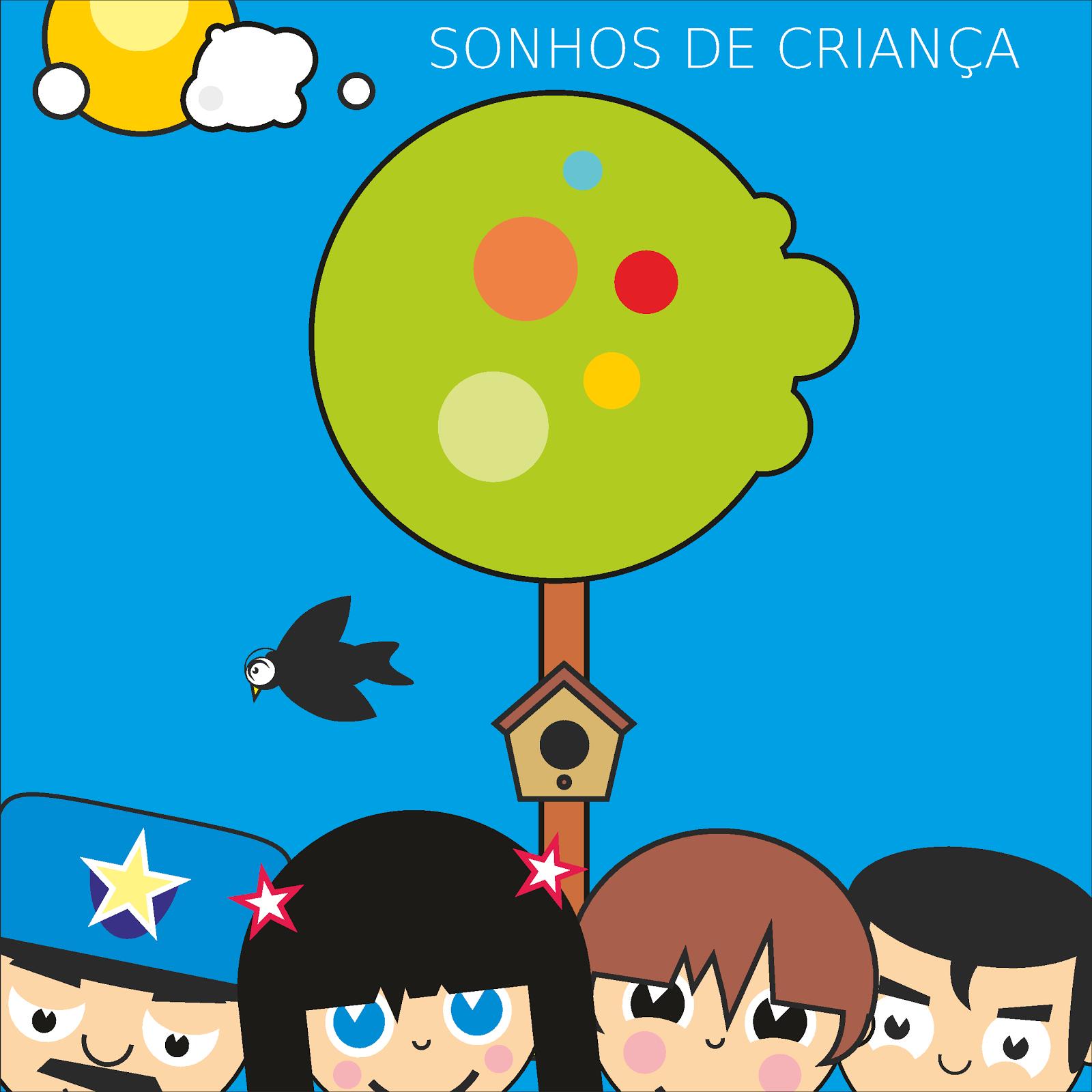 """Livro Infantil """"Sonhos de Criança"""""""