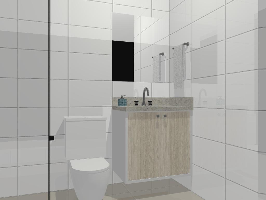 Imagens de #405158 Essa foto ficou estranha.. Mas é a versão mais simples do banheiro  1024x768 px 3612 Banheiros Social Planejados