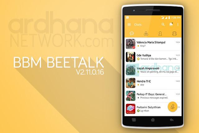 BBM Beetalk - BBM Android V2.11.0.16