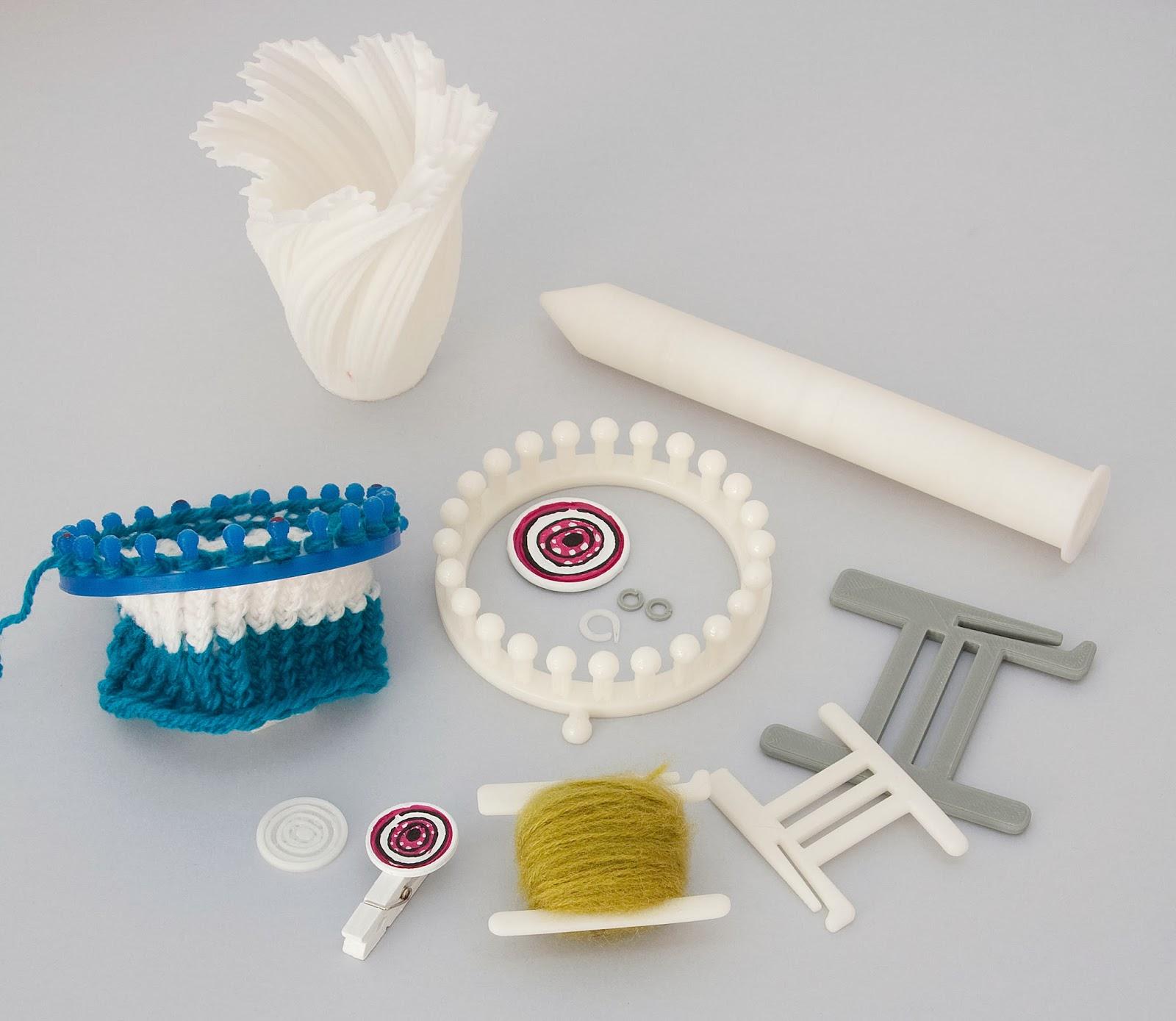 Mira qué punto!: Impresión 3D de agujas y accesorios
